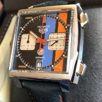 TAG Heuer Monaco Steel 39mm Blue No numerals