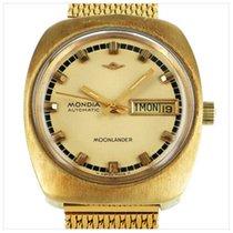 Mondia Gold/Stahl 33mm Automatik gebraucht Deutschland, bei der Bank im Safe