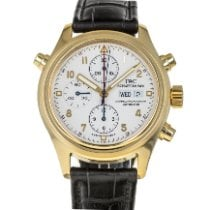 IWC Pilot Double Chronograph Yellow gold 42mm White Arabic numerals United States of America, Maryland, Baltimore, MD
