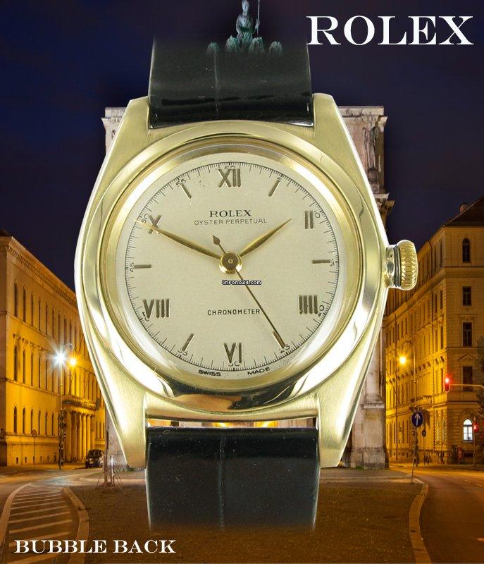Rolex Bubble Back 3131 1947 pre-owned