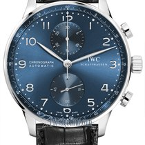 IWC Portuguese Chronograph new 2021 Automatic Chronograph Watch with original box iw371491