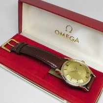 Omega Gold/Steel 34mm Automatic 168.005 PiePan 168005 pre-owned