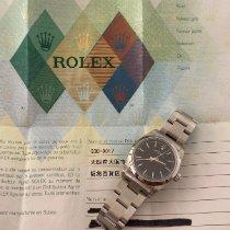 Rolex Oyster Perpetual 31 Acier 31mm Noir Arabes France, Bastia