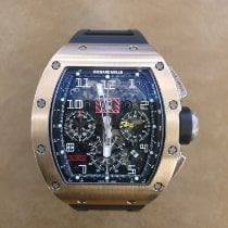 Richard Mille RM 011 pre-owned Transparent Rubber