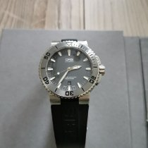 Oris Steel Automatic 43mm pre-owned Aquis Date