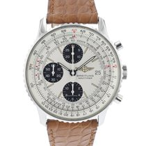 Breitling Old Navitimer Steel 41.5mm Silver Arabic numerals