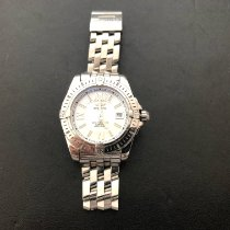 Breitling Cockpit Lady Steel 32mm White
