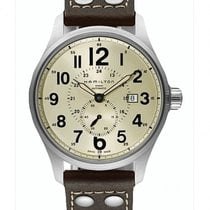Hamilton Khaki Field Officer Acier 44mm Jaune France, Bordeaux