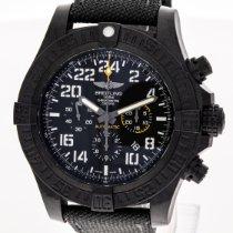Breitling Avenger Hurricane Carbono 50mm Negro Arábigos