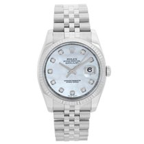 Rolex Lady-Datejust Gold/Steel 36mm Mother of pearl No numerals United States of America, Texas, Dallas