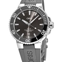 Oris Aquis Titanium Date No numerals United States of America, New York, Brooklyn