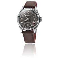 Oris Big Crown Pointer Date Acier 40mm Brun Arabes France, Paris 1er