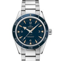 Omega Platinum Blue new Seamaster 300