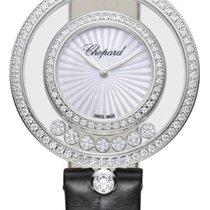 Chopard Happy Diamonds Bílé zlato 32mm Bílá