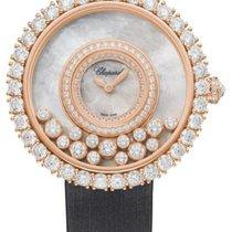 Chopard 204445-5001 Růžové zlato 2021 Happy Diamonds 37.7mm nové