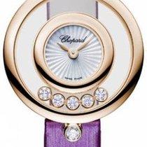 Chopard 209415-5001 Růžové zlato 2021 Happy Diamonds 25.8mm nové