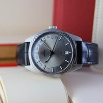 Omega Globemaster occasion 41mm Gris Date Affichage des mois Calendrier annuel Cuir