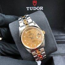 Tudor Gold/Steel 36mm Automatic M76213-0007 new