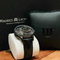 Maurice Lacroix Masterpiece Gravity Steel 43mm Black