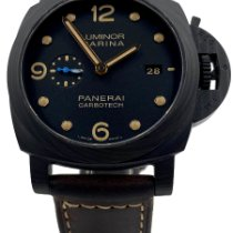 Panerai PAM 00661 Carbon 2016 Luminor Marina 1950 3 Days Automatic 44mm pre-owned United States of America, Texas, Houston
