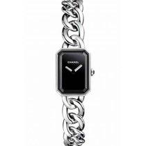 Chanel Première Steel 16mm Black No numerals