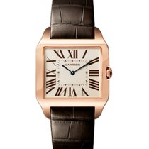 Cartier Santos Dumont new 2020 Manual winding Watch with original box and original papers W2006951