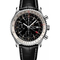 Breitling Navitimer GMT A24322121B2P1 New Steel 46mm Automatic