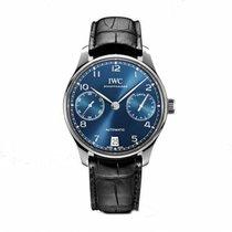 IWC Portuguese Automatic Steel 42mm Blue No numerals