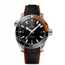 Omega Seamaster Planet Ocean Steel 43.5mm Black