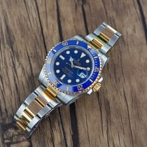Rolex Submariner Date Gold/Steel 40mm Blue No numerals United States of America, California, Sunnyvale