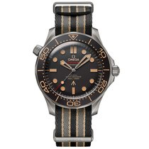 Omega Seamaster Diver 300 M Titanium 42mm Brown No numerals United States of America, Pennsylvania, Philadelphia