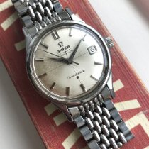 Omega Constellation pre-owned Silver Steel