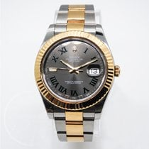 Rolex Datejust II Gold/Steel 41mm Grey Roman numerals United States of America, Florida, Miami