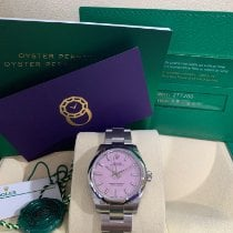 Rolex Oyster Perpetual 31 Acero 31mm Rosa Sin cifras