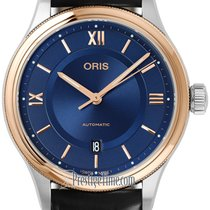 Oris Classic Gold/Steel 42mm Blue United States of America, New York, Airmont