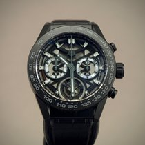 TAG Heuer new Automatic Skeletonized Display back Small seconds Luminous hands 45mm Ceramic Sapphire crystal