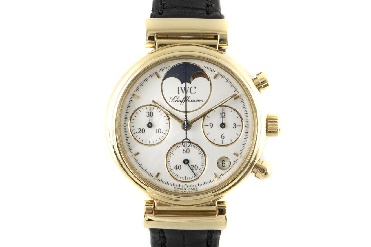IWC Da Vinci Chronograph 3736 2000 pre-owned