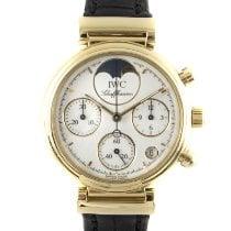 IWC Damenuhr Da Vinci Chronograph 29mm Quarz gebraucht Nur Uhr 2000