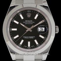 Rolex Datejust II Acier 41mm Noir Sans chiffres France, Paris