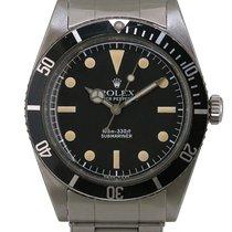 Rolex Submariner (No Date) 5508 Aço 40mm Automático