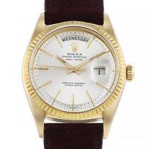 Rolex Day-Date 36 Or jaune 36mm Argent Sans chiffres France, Paris