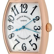 Franck Muller Cintrée Curvex Rose gold 32mm Silver Arabic numerals United States of America, Texas, Dallas