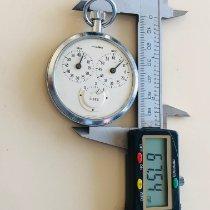 Junghans Uhr gebraucht 1960 Stahl 55mm Handaufzug Nur Uhr