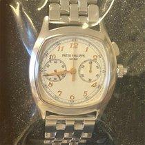 Patek Philippe Staal Handopwind Zilver Arabisch 37mm nieuw Grand Complications (submodel)