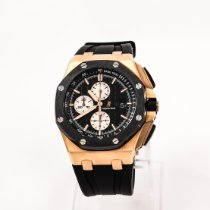 Audemars Piguet Royal Oak Offshore Chronograph Ouro rosa 44mm Preto Sem números