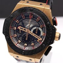 Hublot Red gold Automatic 48mm pre-owned King Power
