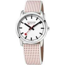 Mondaine Simply Elegant 36mm White No numerals