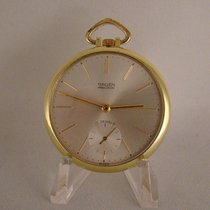 Gruen Watch pre-owned Yellow gold 44mm Watch only