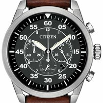 Citizen Steel 45mm Black Arabic numerals United States of America, New York, Monsey