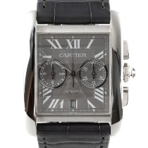 Cartier Tank MC Steel 33.5mm Grey